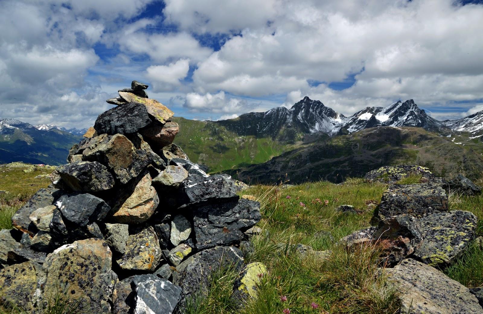 Alpy - Lato w Tyrolu