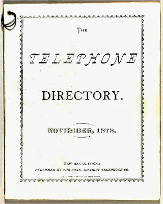 The world's first telephone book