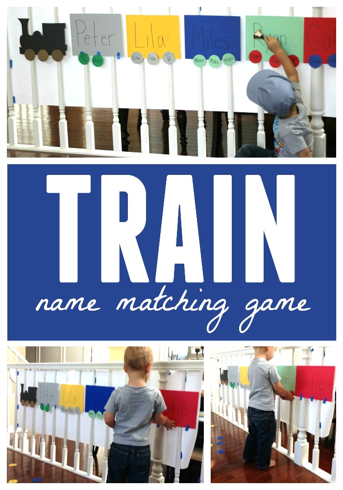 Toddler Approved!: Train Name Matching Game