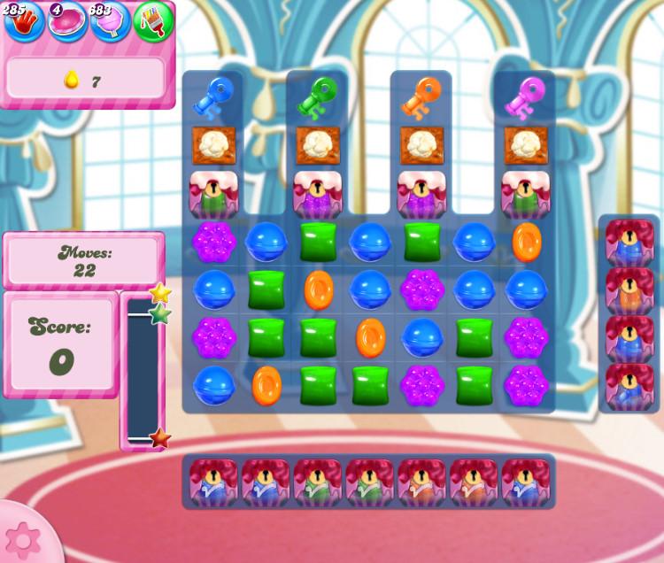 Candy Crush Saga level 2749