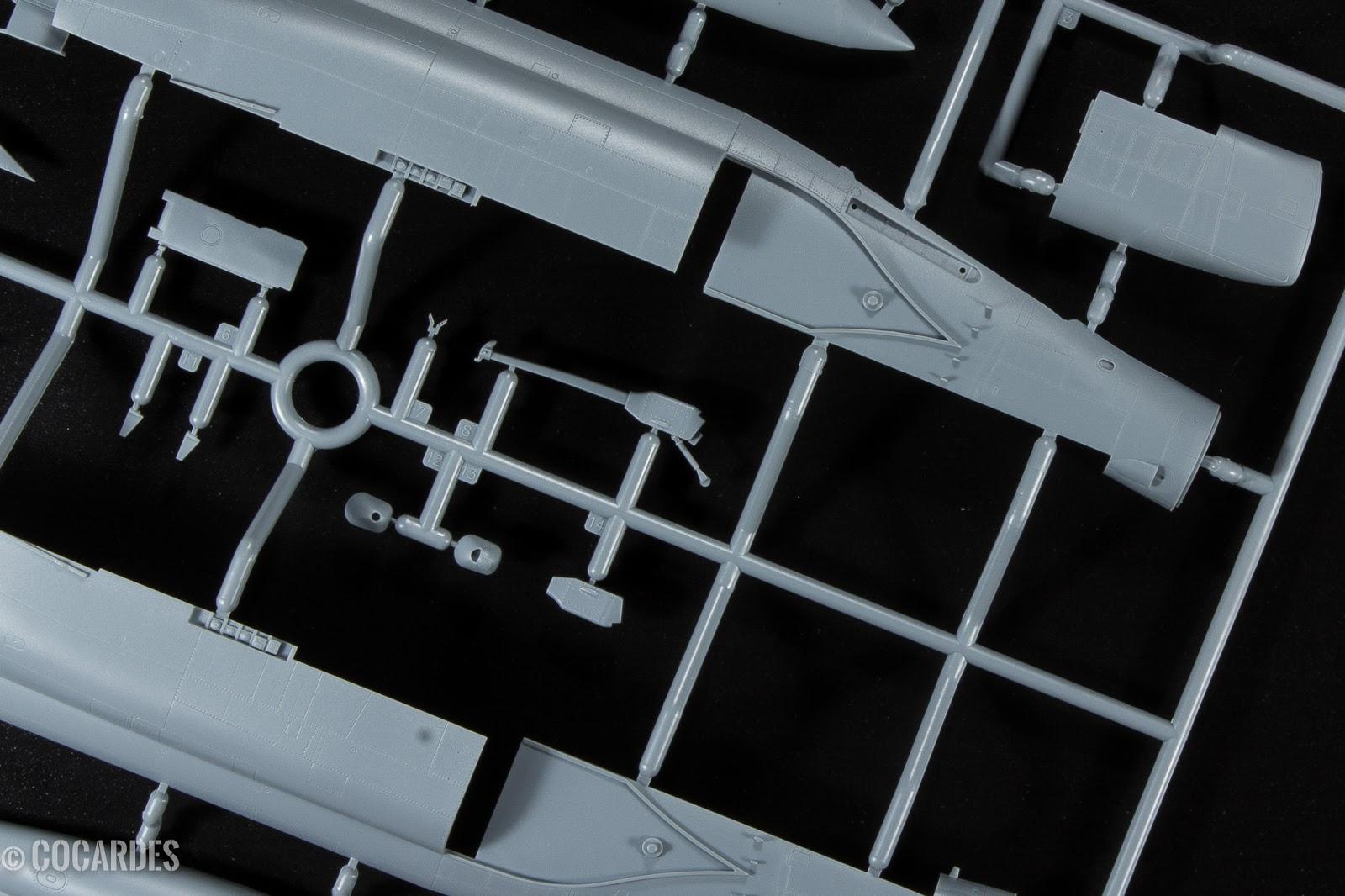 F-4J Phantom II Zoukei Mura détail de la gravure - engraving detail