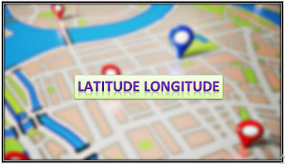 LATITUDE LONGITUDE Finder banner