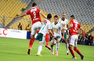 مباراة الأهلي والمصري البورسعيدي 12-1-2018