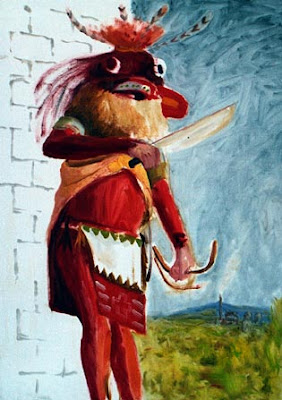 Rappresentazione artistica del Chaveyo realizzata da Kristoffer Zetterstrand