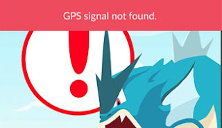 GPS Signal Not Found Pada Game Pokemon Go