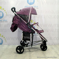 Kereta Bayi Lightweight Babyelle Infinite BE-S800 Purple