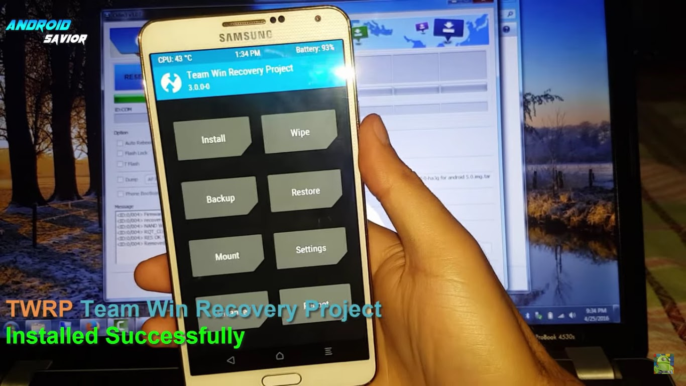 Android Savior: How to Install TWRP Recovery on The Galaxy Note 3