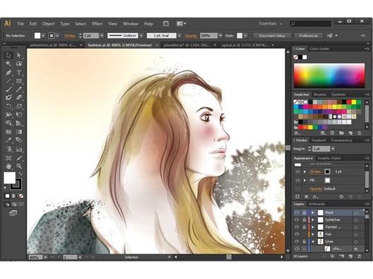 Adobe illustrator Crack File 2017