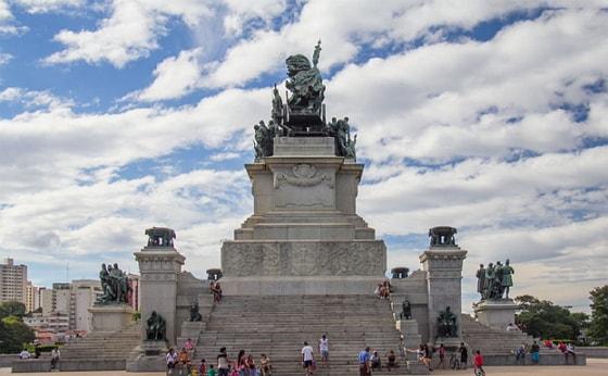 Imagem do monumento da Independência do Brasil