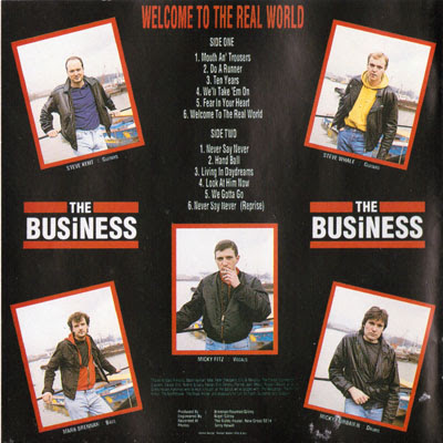 The Business - Welcome to the Real World