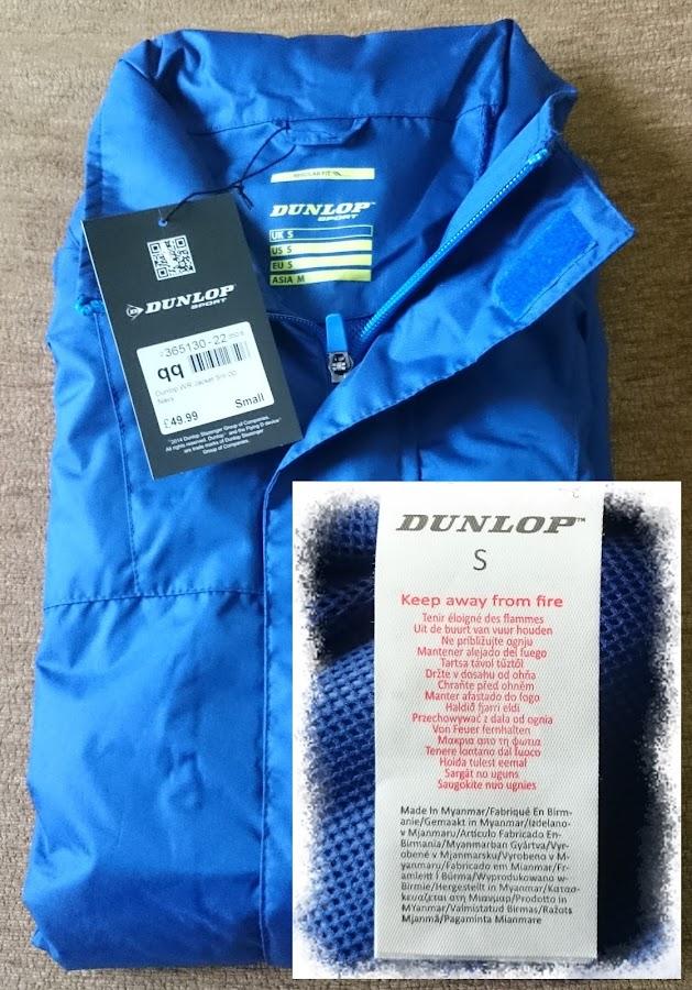 Áo thun khoác chống nước Dunlop D-back
