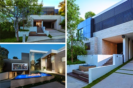 desain rumah mewah yang modern dan mengagumkan di beverly