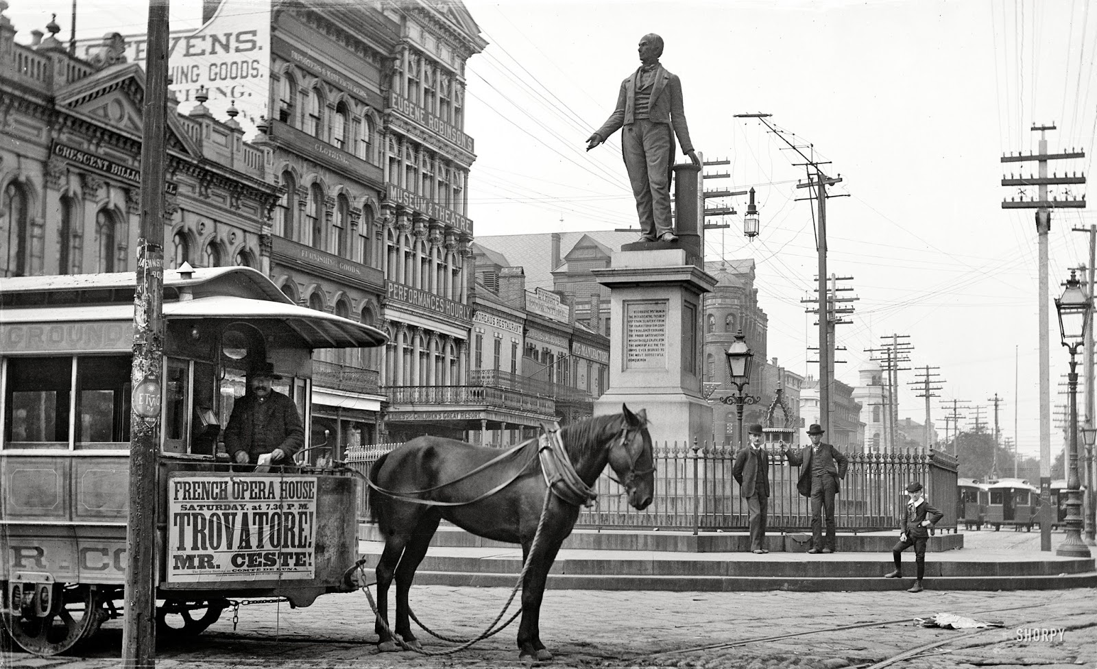 Canal Street en 1890.