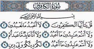 Penamaan Surah Al Kafirun Suduthukumcom