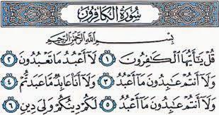 Penamaan Surah Al-Kafirun