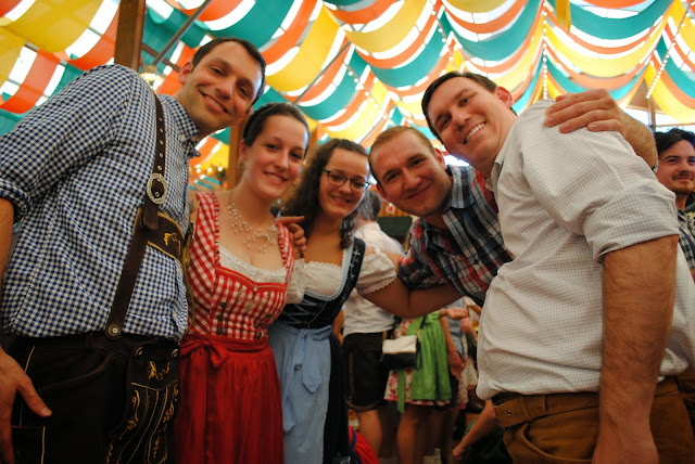 Cheers from Oktoberfest 2014, Munich, Germany