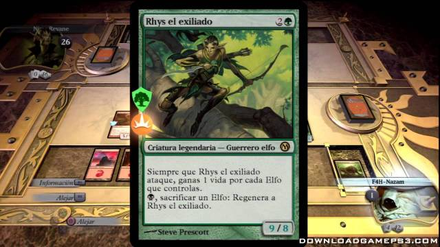 Magic The Gathering Duels of The Planeswalkers PSN