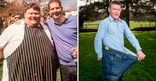 Su amigo le decía maldito gordo y lo motivó a bajar de peso