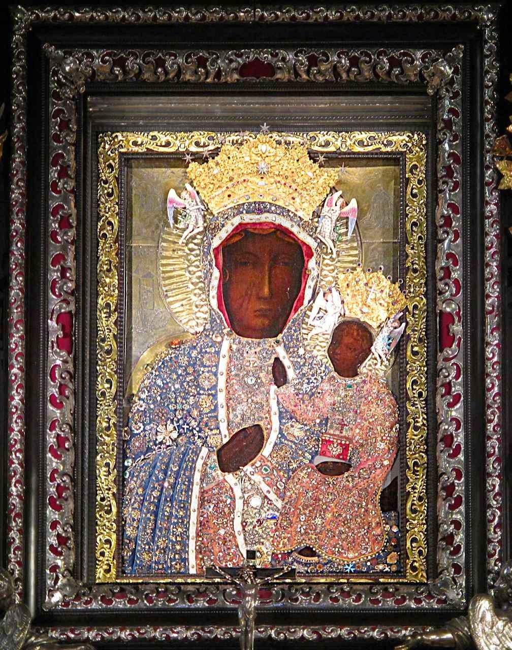 Nossa Senhora de Chestohowa, padroeira da Polônia.