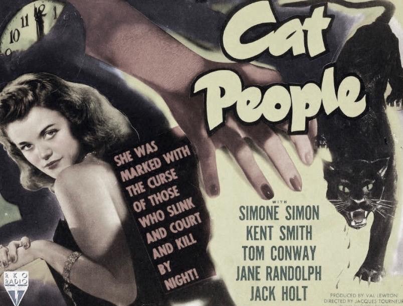 cult film freak: RAMBLING PERSPECTIVE OF 'CAT PEOPLE' ORIGINAL & REMAKE