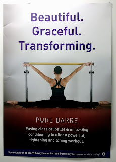 Beautiful. Graceful. Transforming. Pure Barre. Fusing classical ballet & innovative conditioning to offer a powerful, tightening, and toning workout.