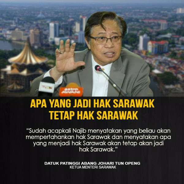 Pejabat KM Sarawak Nafi Sebaran Borneo Voice