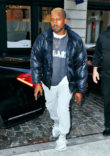 Kanye West emerges from MK Ultra programming with blonde hair