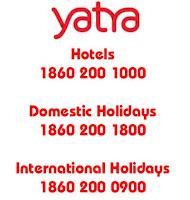 Yatra Customer Care Toll Free