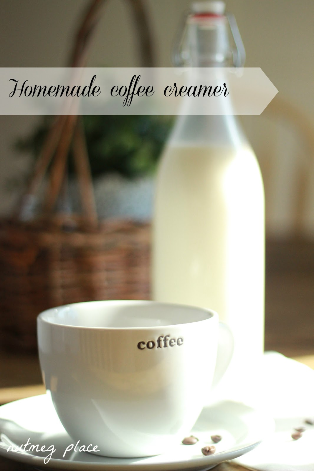 Homemade Coffee Creamer ~