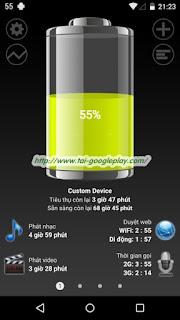 Tải ứng dụng Battery HD Pro t