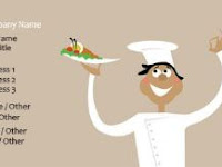 Inspirasi Desain Kartu Nama Catering