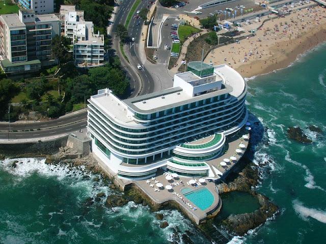 Hotel de luxo Sheraton Miramar