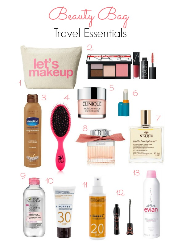 Ioanna's Notebook - Beauty Bag Travel Essentials