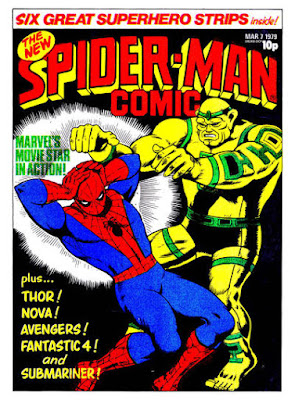 Spider-Man Comic #313