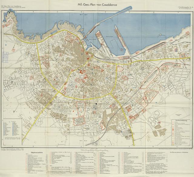 Carte de la Médina de Casablanca