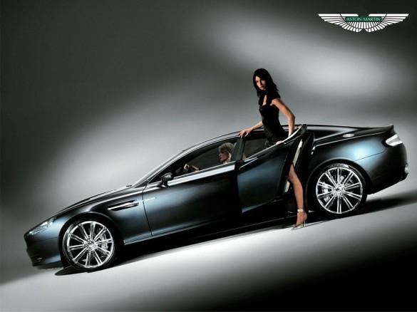 Speed Aston Martin Rapide S Black Edition 2012