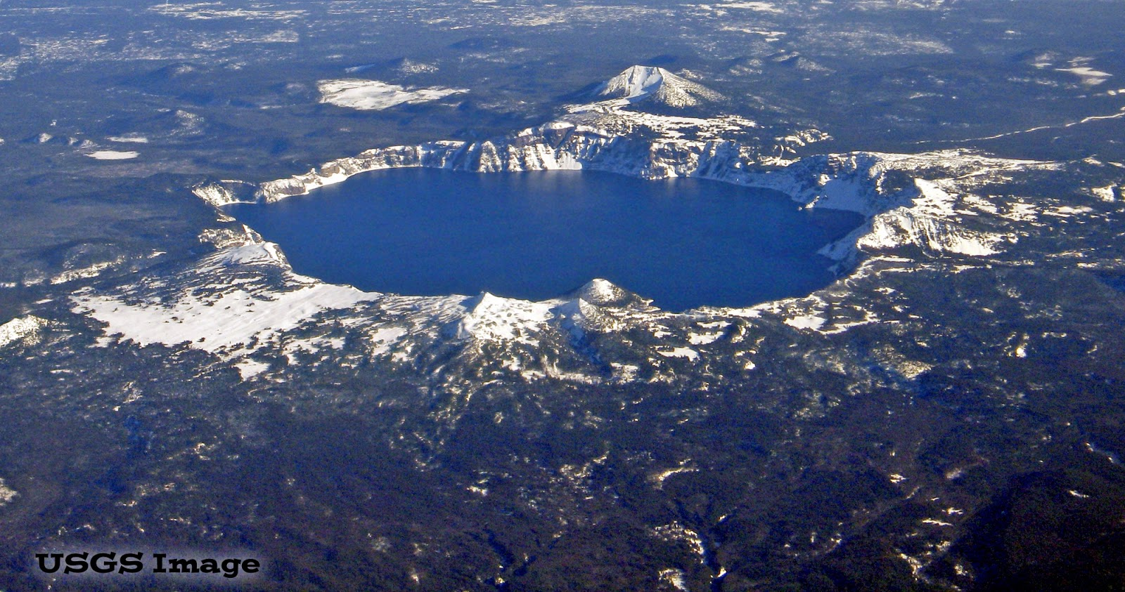 Crater Lake National Park- USGS photo.