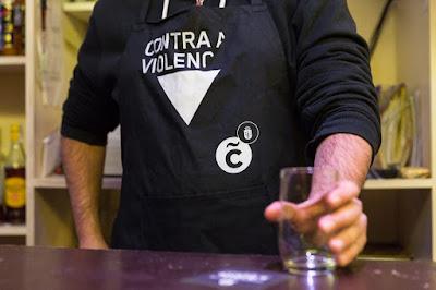 "Campaña ""A Coruña en negro contra as violencias machistas"""