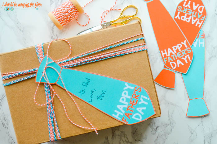 Free Printable Father's Day Banner or Gift Tags