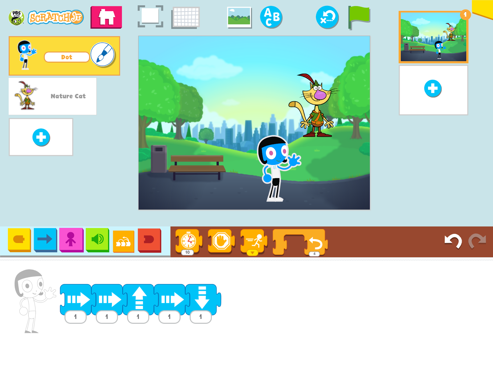 Free Technology for Teachers: PBS Kids ScratchJr - Scratch With a ...