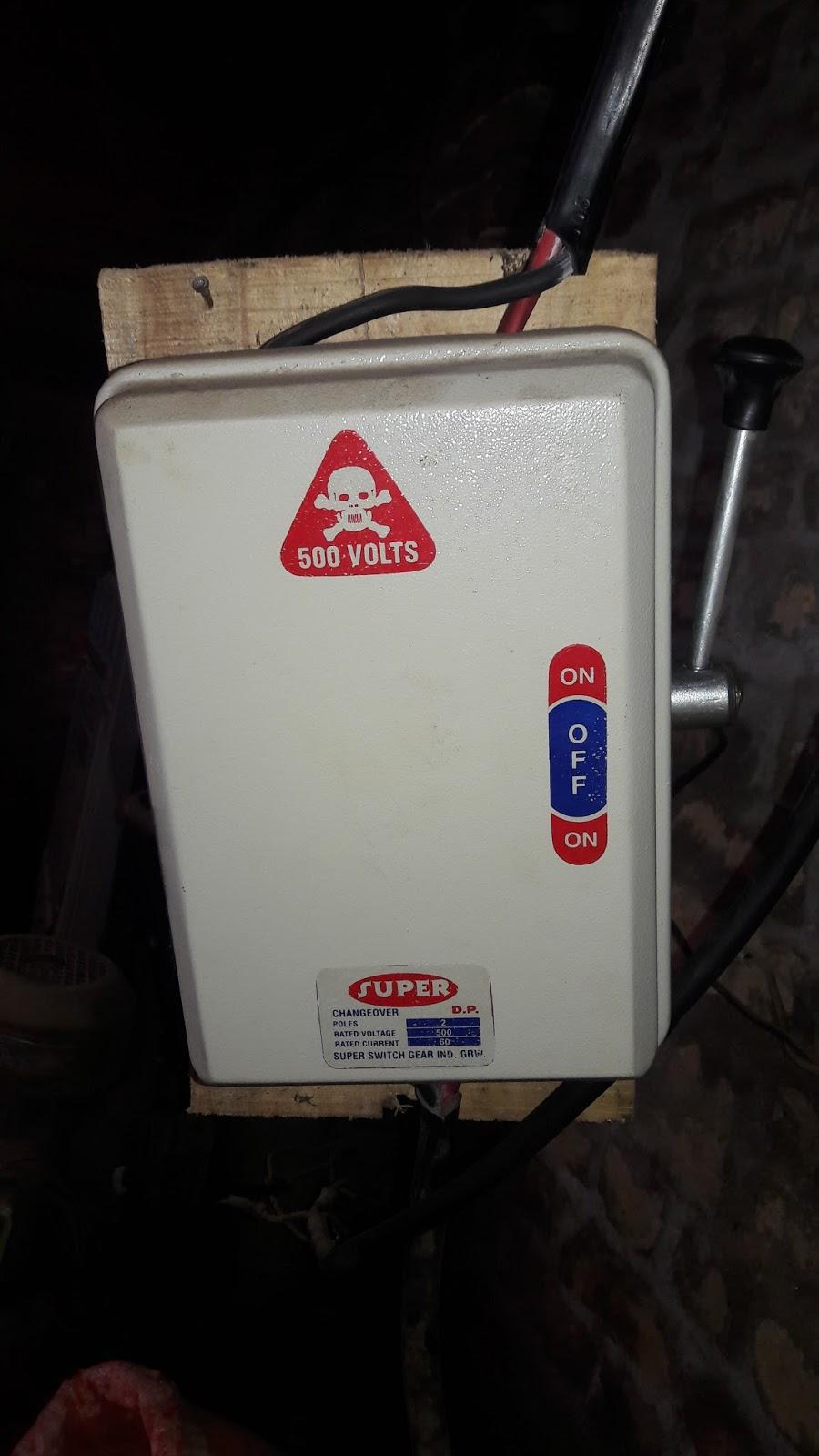 portable generator manual transfer switch wiring diagram stihl 024 av parts changeover - electrical tutorials urdu hindi