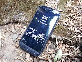 Hape Outdoor Caterpillar S31 New Android 4G LTE IP68 Certified Baterai 4000mAh