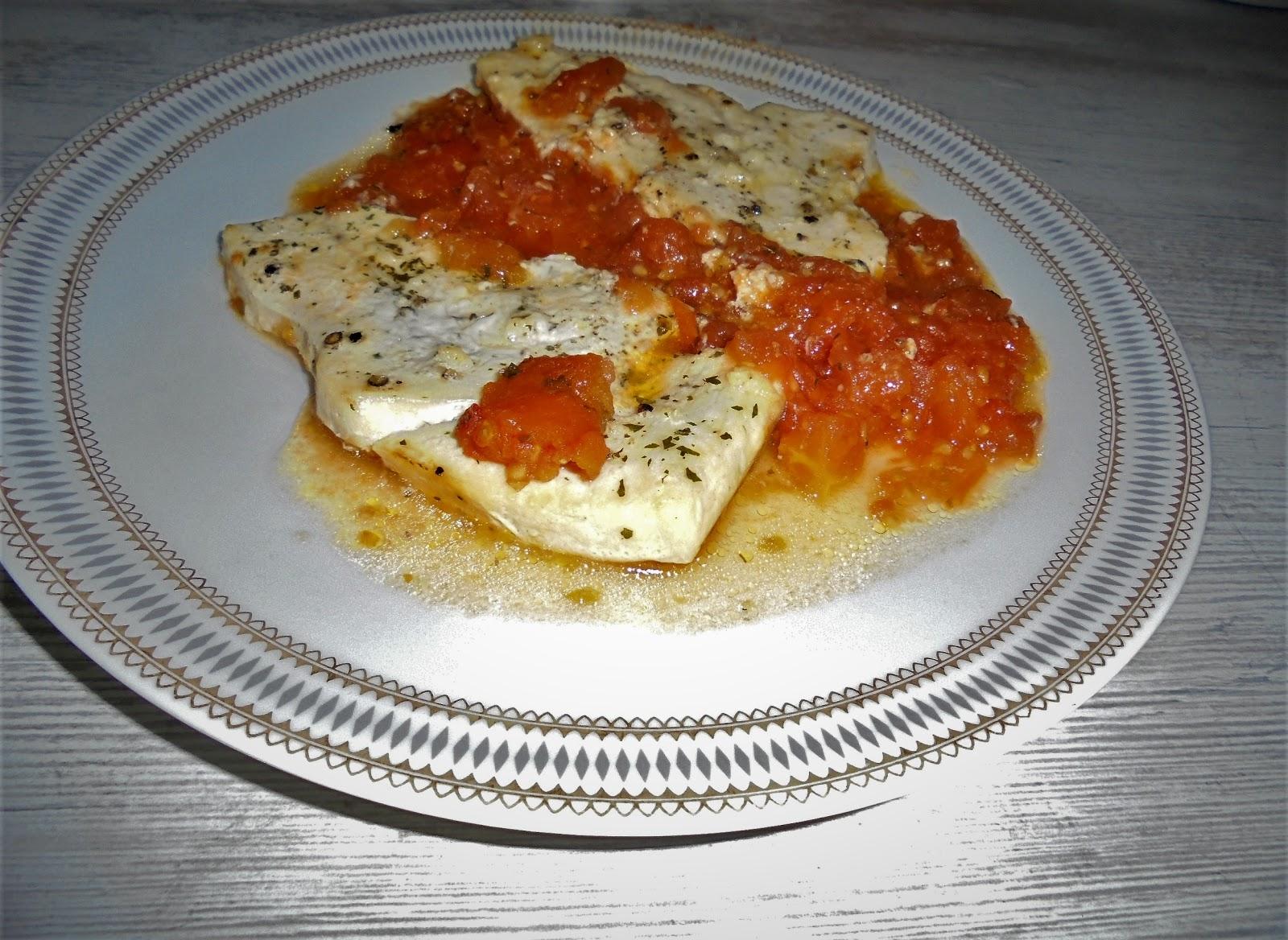 Mama lo cocina pez espada con tomate al horno for Cocinar pez espada al horno