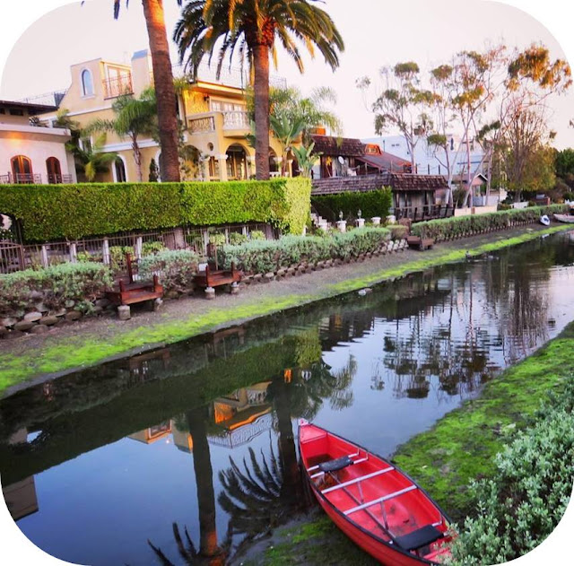 From Venice Beach to Santa Monica: Venice Beach Canals