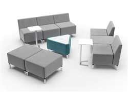 Modular Lobby Seating and Accent Tables