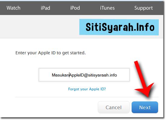 Solusi Lupa Password Icloud Iphone