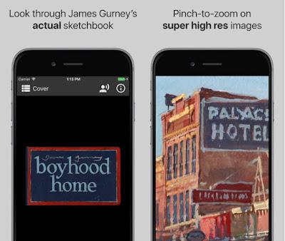 Gurney Journey: The Living Sketchbook App is Live