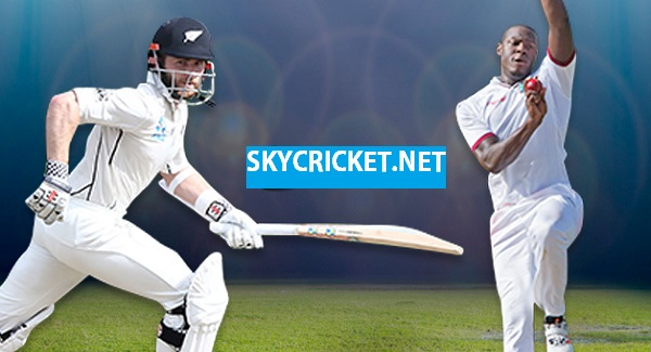 New Zealand v West Indies Test Series Fixture