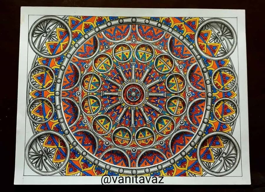 03-Ancient-Dial-or-Mayan-Calendar-Vanita-Vaz-Mandala-and-Doodle-www-designstack-co