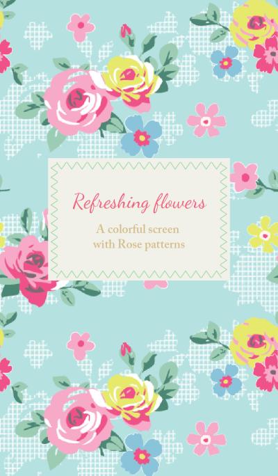 Refreshing flowers